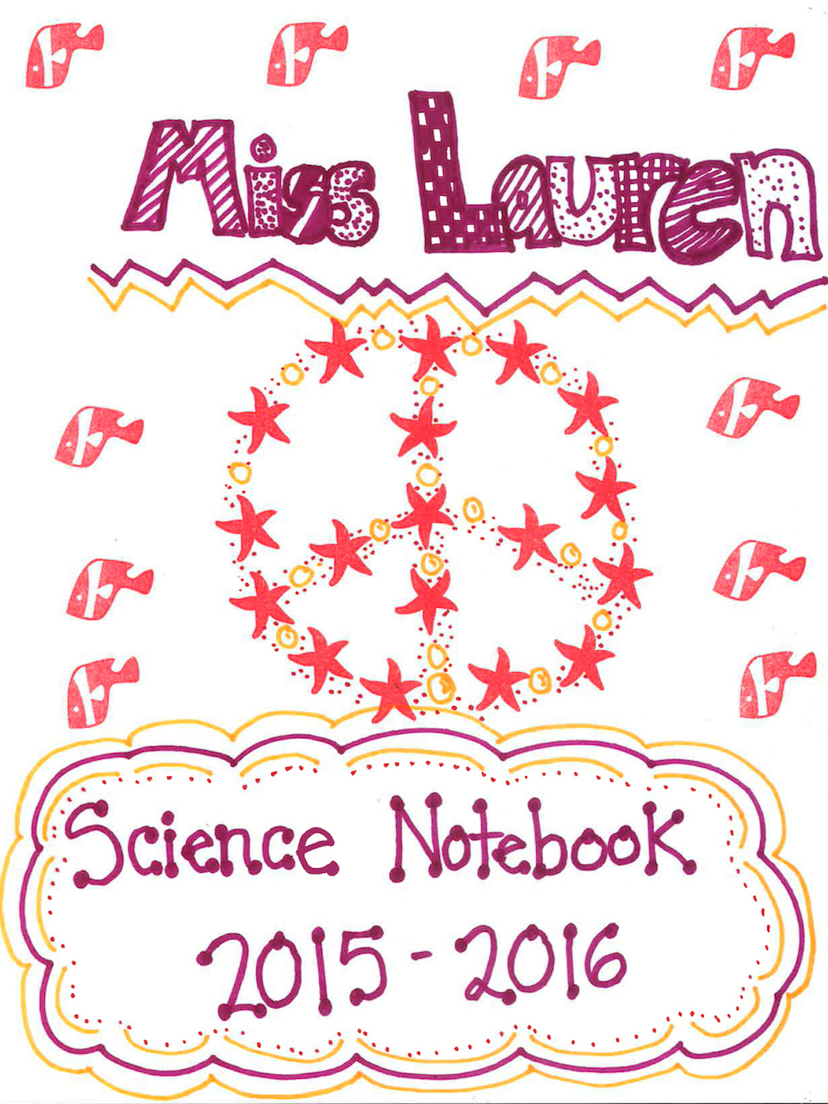 decorate your science notebook