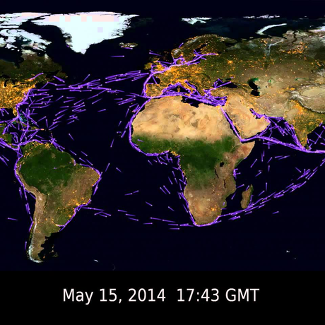 image: How Quickly Do Ships Cross the Oceans?