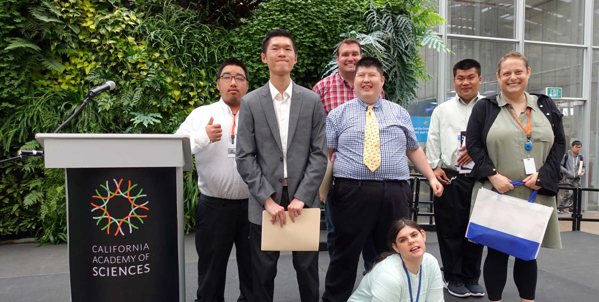 Group photo of graduates of the Arc-Academy workforce development program collaboration