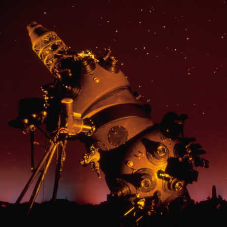 The Morrison Planetarium and Star Projector