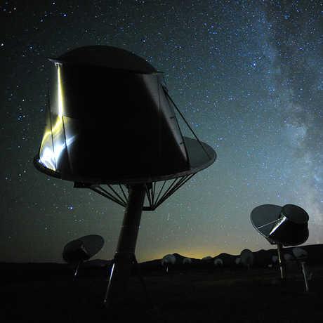 The alien-hunting Allen Telescope Array in Northern California
