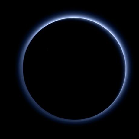 Plutos haze