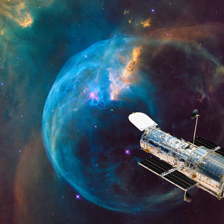 The Beauty of the Universe as Revealed by Hubble