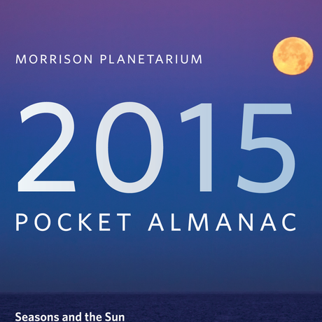 Cover of the 2015 Morrison Planetarium Almanac