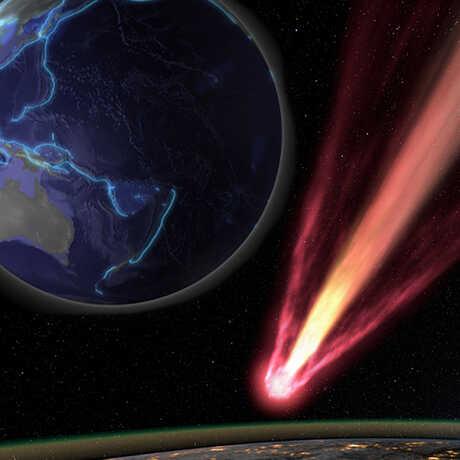 Planetarium shows Earthquake and Incoming