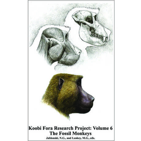 Koobi Fora Research Project: Volume 6: The Fossil Monkeys