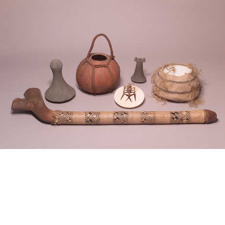 Items from the Rollo Beck Collection (South Pacific)