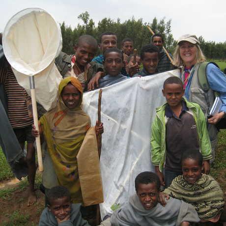 Meg Lowman in Ethiopia