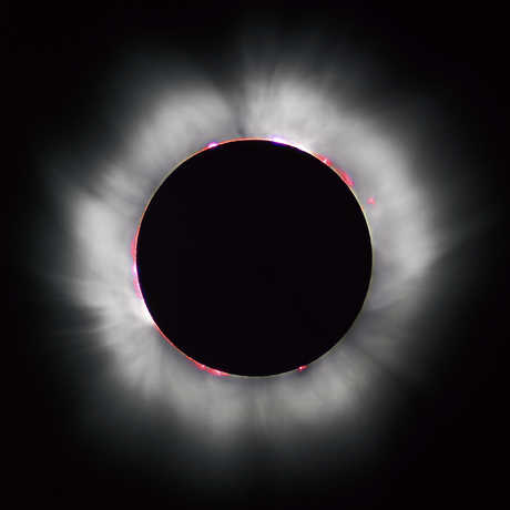 Solar Eclipse with corona
