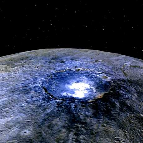 Occator crater on Ceres, NASA/JPL-Caltech/UCLA/MPS/DLR/IDA