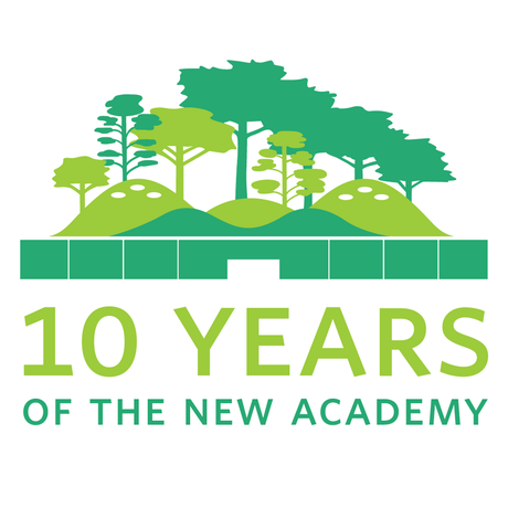 The Academy's 10th Anniversary Celebration logo