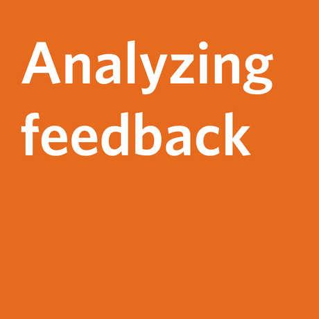 Analyzing feedback