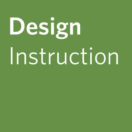 Design Instruction