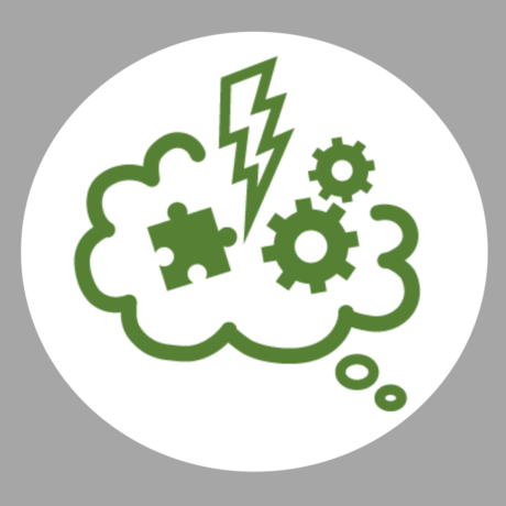 design thinking icon for food