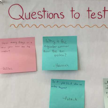 questions to test