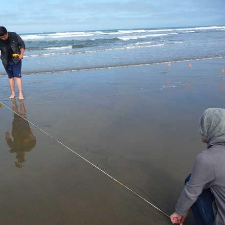 measuring tides