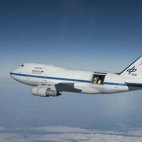 NASA's SOFIA aircraft