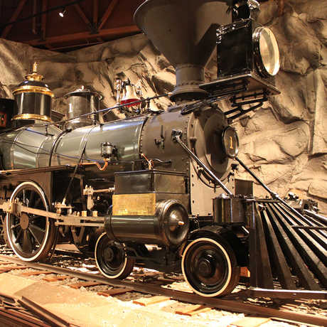Gov Stanford Locomotive at the California State Railroad Museum