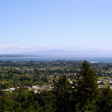 View from UC Santa Cruz