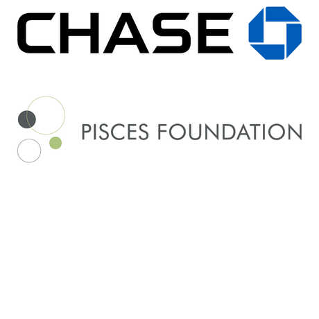 Chase and Pisces logos