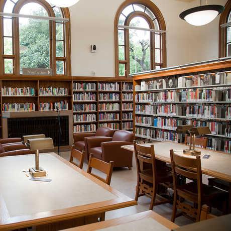 Presidio Branch of the San Francisco Public Library, courtesy Friends.SFPL