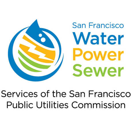 SFPUC logo: water, power, sewer