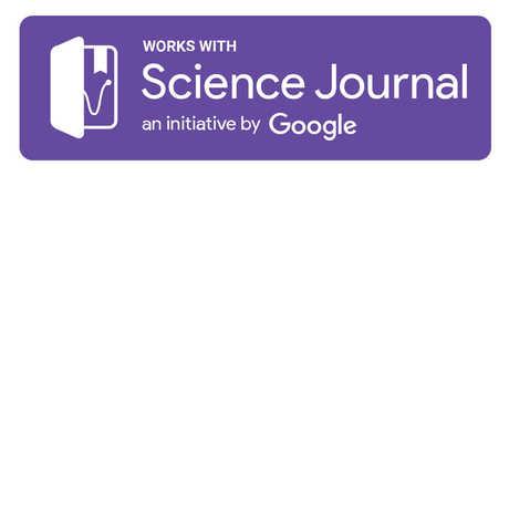 Science Journal an initiative by Google logo