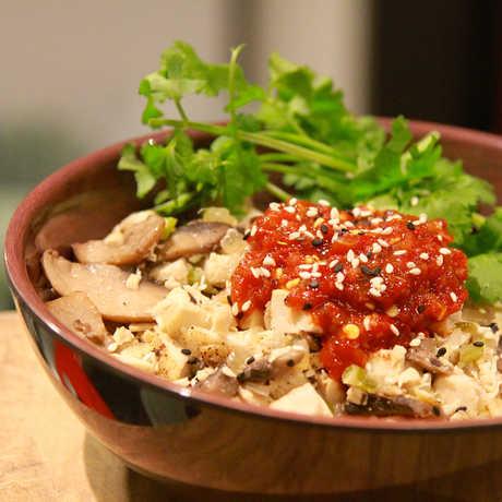 Academy Cafe rice bowl