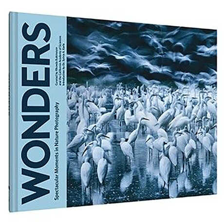 A hardback copy of Wonders