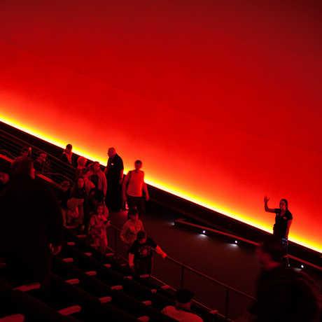 Inside the Morrison Planetarium