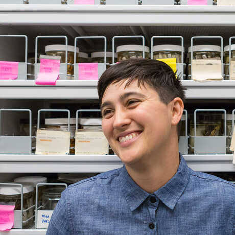 Just poot it.  California Academy of Sciences scientist Lauren Esposito talks about discovering new species.