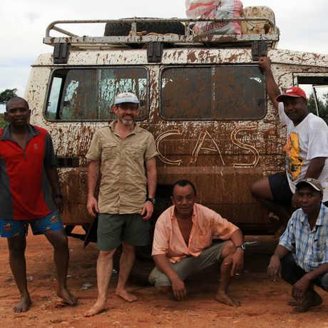Brian Fisher in Madagascar