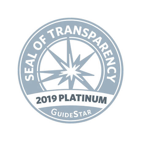 Guidestar 2019 Platinum Seal of Transparency