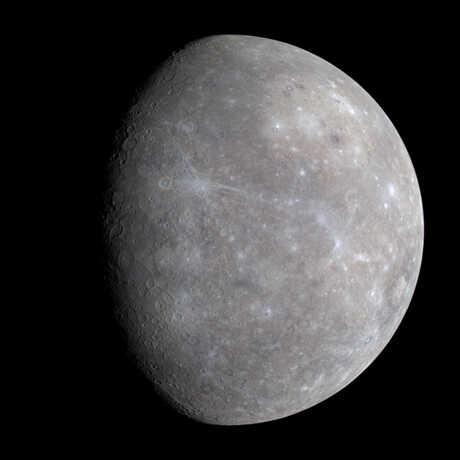 The planet Mercury, image by NASA/JPL