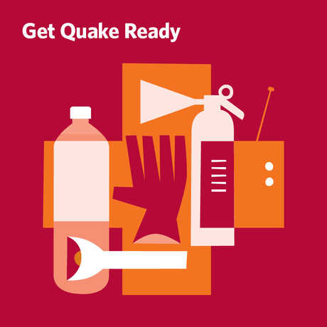 Screen grab of earthquake preparedness sheet