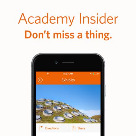 Acaddemy Insider mobile app