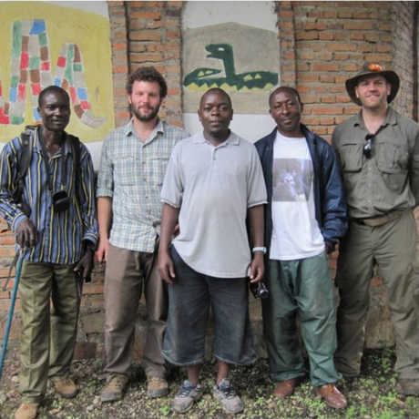 The team in Burundi