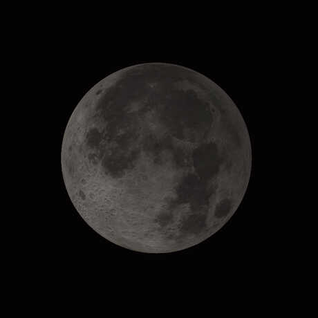 Image of the moon during a lunar eclipse