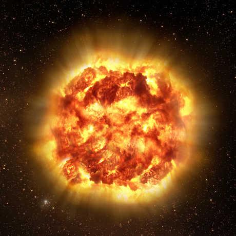 Artist Impression of Supernova