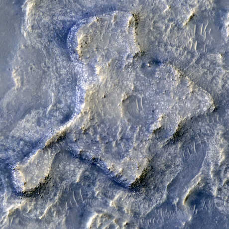 Northeaster Syrtis Region on Mars