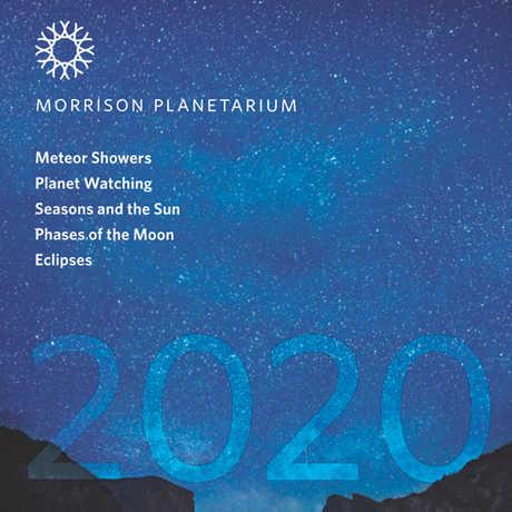 Cover image of 2020 Morrison Planetarium Pocket Almanac