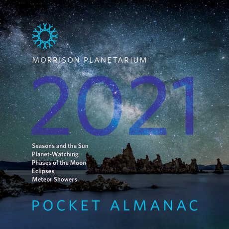 Cover image for 2021 Morrison Planetarium Pocket Almanac