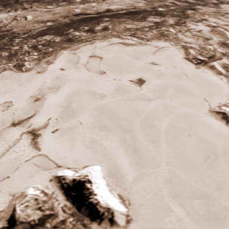 Dunes on Pluto?