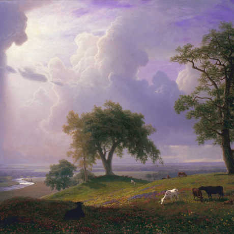 """Albert Bierstadt, """"California Spring"""""""