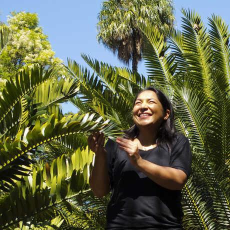 botanist in field
