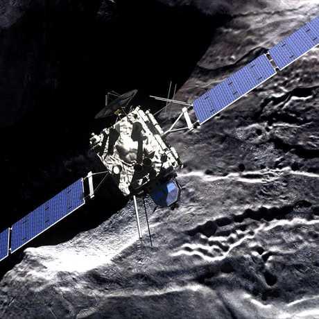 Rosetta, by DLR