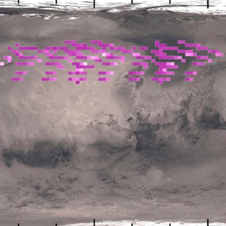 Ultraviolet Aurora on Mars