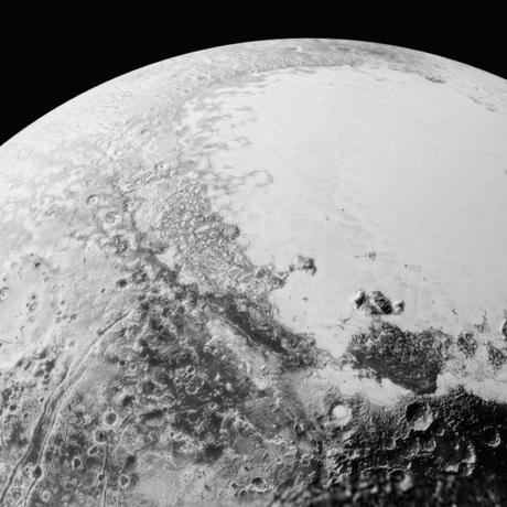 recent Pluto pic