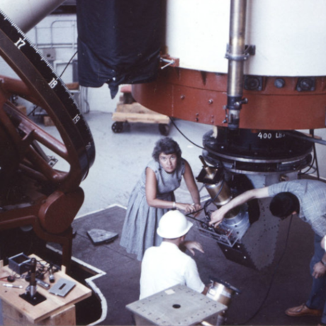 Vera Rubin at the Lowell Observatory in 1965, Carnegie Institution