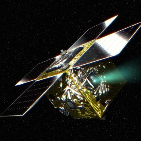 The PROCYON spacecraft and comet 67P/Churyumov-Gerasimenko